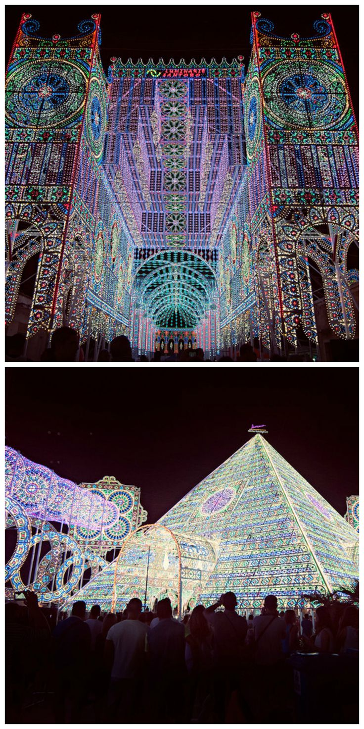 Notte delle Luci is an amazing light festival in southern Italy >> Has anyone ever been?