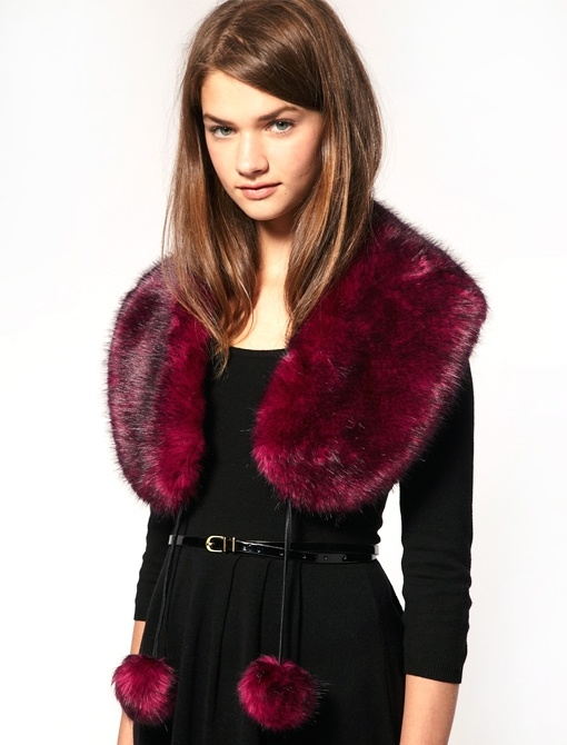 very cute for date night . faux fur