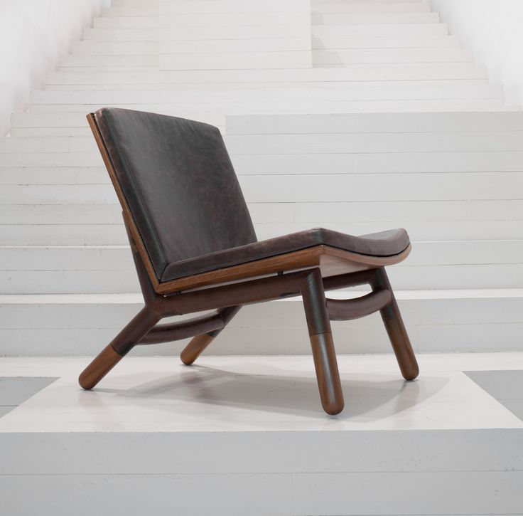 Java chair by Carlos Motta. On display at ESPASSO NY.