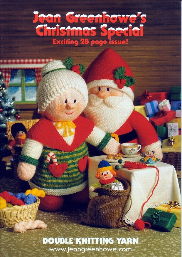 Christmas Special by Jean Greenhowe knit dolls Pinterest Toys, For the ...