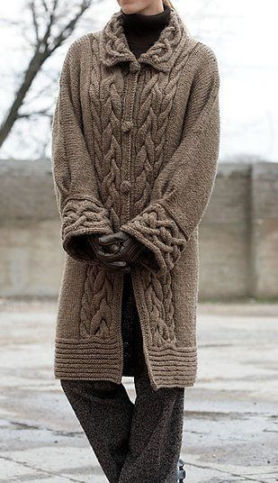 hermoso: Free Knitting, Cable Cars, Knitting Patterns, Free Knits, Coats Patterns, Knits Patterns, Cars Coats, Sweaters Coats, Crochet Patterns