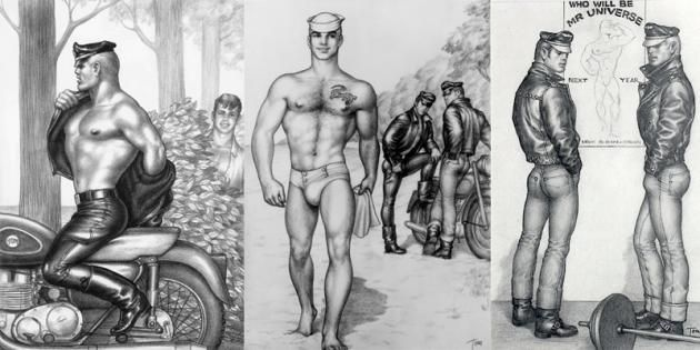 Men deepthroat while women watches galleries