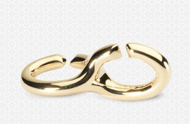 Double Gold Link - X by Trollbeads #ZbyAlikiVergidou