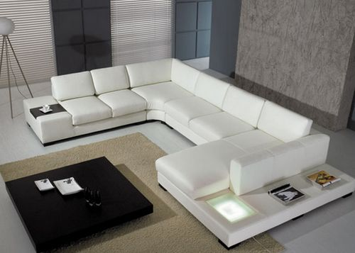 Cheap Contemporary Sectional Leather Sofa Part 72