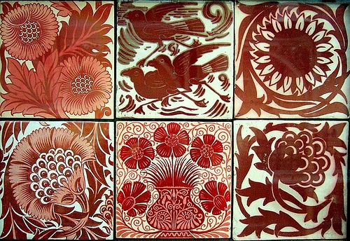 William De Morgan- tiles