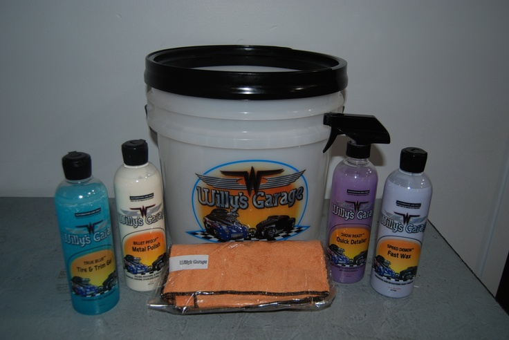 "What a GREAT Father's Day Gift Idea! Willy's Garage presents the ""CHARLIE HUTTON Special""! Professional Grade Car Care and Detailing Products at a Fantastic price! Order now & get a 16oz bottle of SUPER GLOSS Car Wash and our Heavy Duty Bucket with Sealing Screw-on Lid FREE! Check us out on FB @ willys.garage.usa or Slick Lyzard, for Details & Pricing for Bucket #2 (Pictured). www.willysgarageu..."