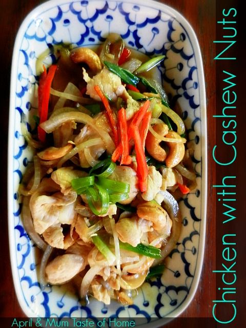 Image Credit: chicken_with_cashew_nuts_Copyright author April Z's family – Author used with permission