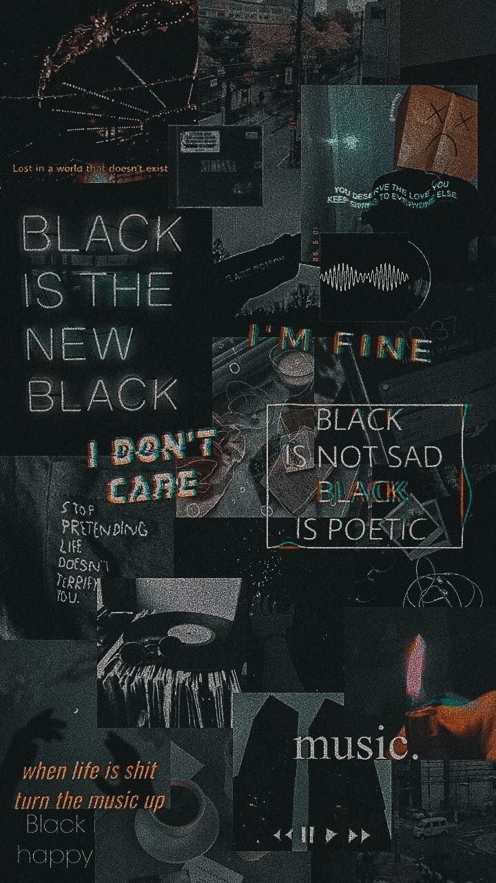 Schwarze Tapete Asthetische In 2020 Retro Wallpaper Iphone Black Aesthetic Wallpaper Dark Wallpaper Iphone