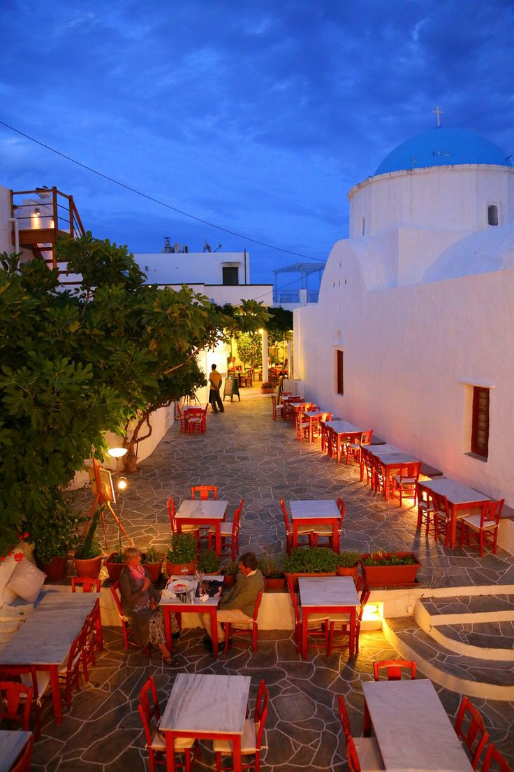 Evening in Sifnos