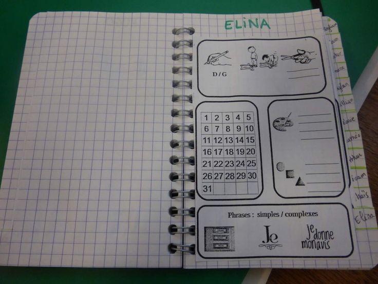 mon carnet d'observations maternelle LA CLASSE DE PEPE