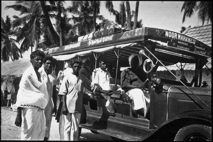 1933 வருடத்திய நாகர்கோவில் - திருநெல்வேலி பேருந்தின் புகைப்படம்.. the Nagercoil-Tinnevelly Bus of 1933 https://www.facebook.com/photo.php?fbid=186637034775577&set=a.181318115307469.31541.100002878457247&type=1&relevant_count=1