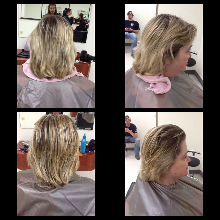 Marvelous 90 Degree Haircut I Did