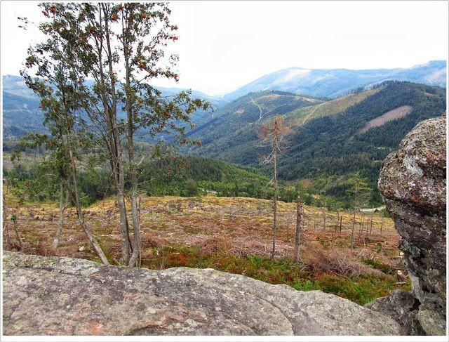 szlaki i bezdroża: Beskid Śląski - na Skrzyczne (część pierwsza)