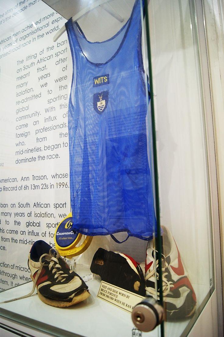 Bruce Fordyce - Comrades Marathon running gear