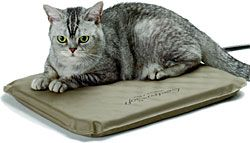 Win this heated pet bed in our Facebook Sweepstakes! (Click here to enter: ow.ly/sSgWn) | Soft Outdoor Heated Cat Bed | CozyWinters