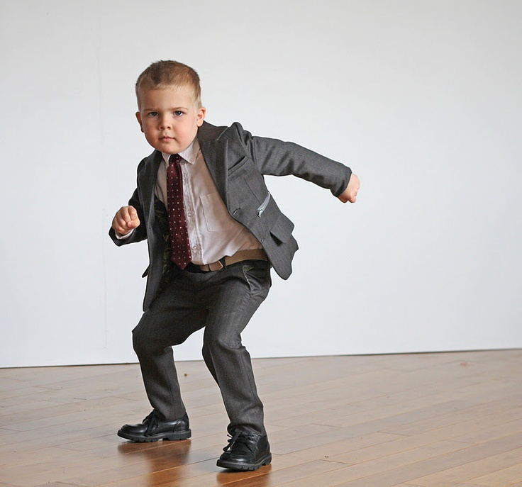 Running with Scissors- Little boys suit