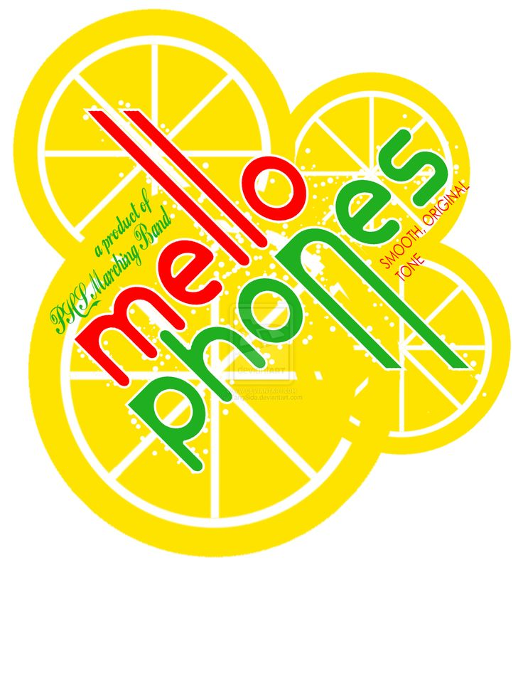 Mellophone  oh my god I have to remember this  for sweat shirts next year!!!!!!