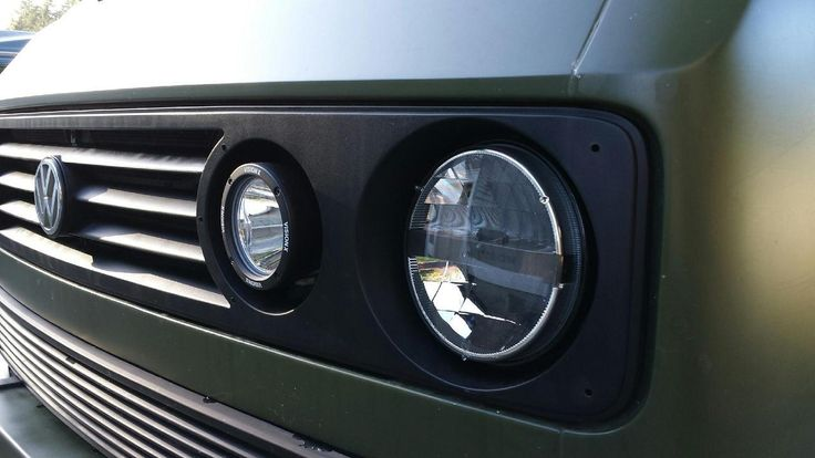 Led Headlights On The Das Mule Vanagon Syncro Westy Vw