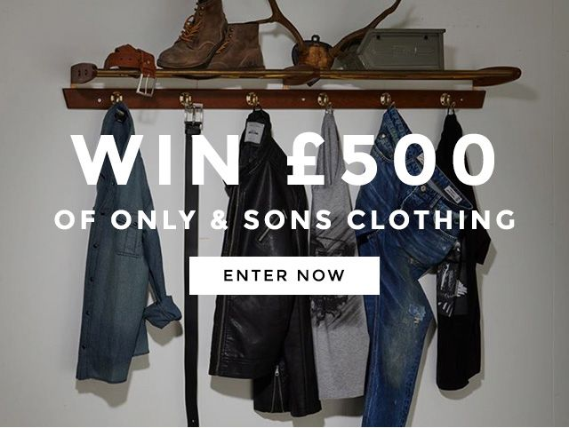 Win £500 Worth of Only & Sons Clothing