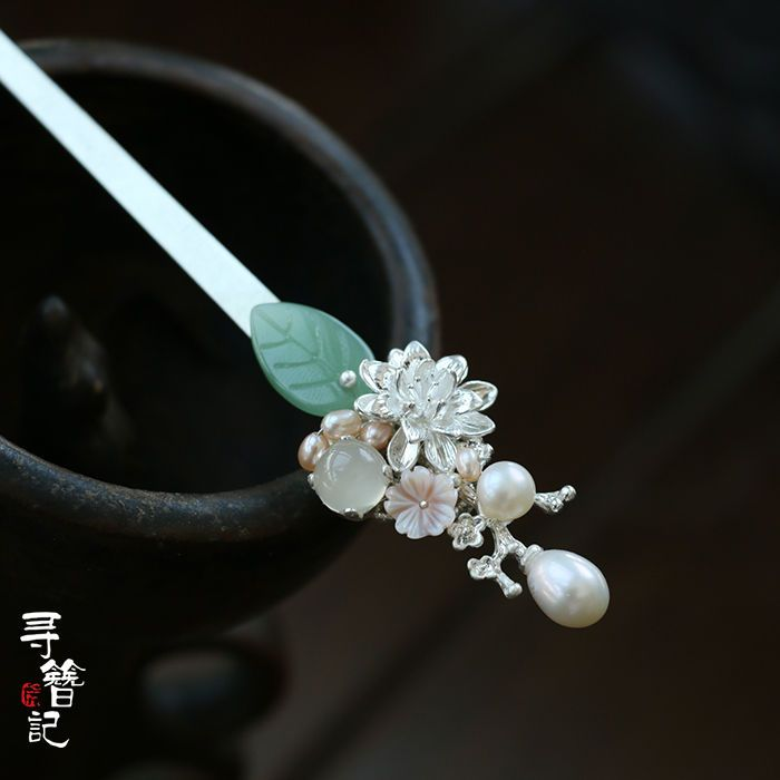 High Quality Chinese Classical Women Hairpin Hair Accessories White Jade Glass | Clothing, Shoes & Accessories, Women's Accessories, Hair Accessories | eBay!