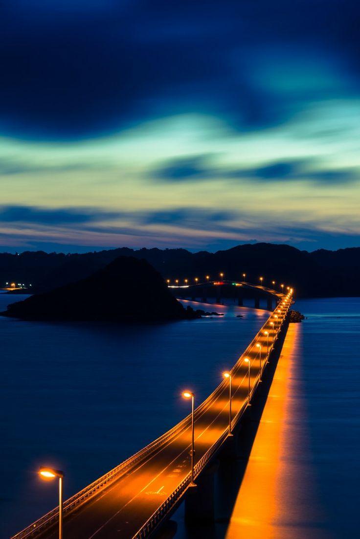Tunoshima Bridge, Yamaguchi, Japan 角島大橋