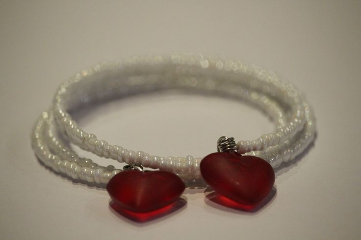 love heart bracelet by 1OfakindHomemade on Etsy