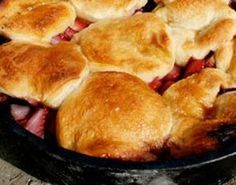 Dutch oven cobblers and desserts are so good. I enjoy cooking over the camp fire. I love the smell of the cobbler cooking as the sun sets by the campfire... sooo good.