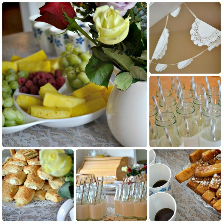 french country baby shower menu ideas wedding shower