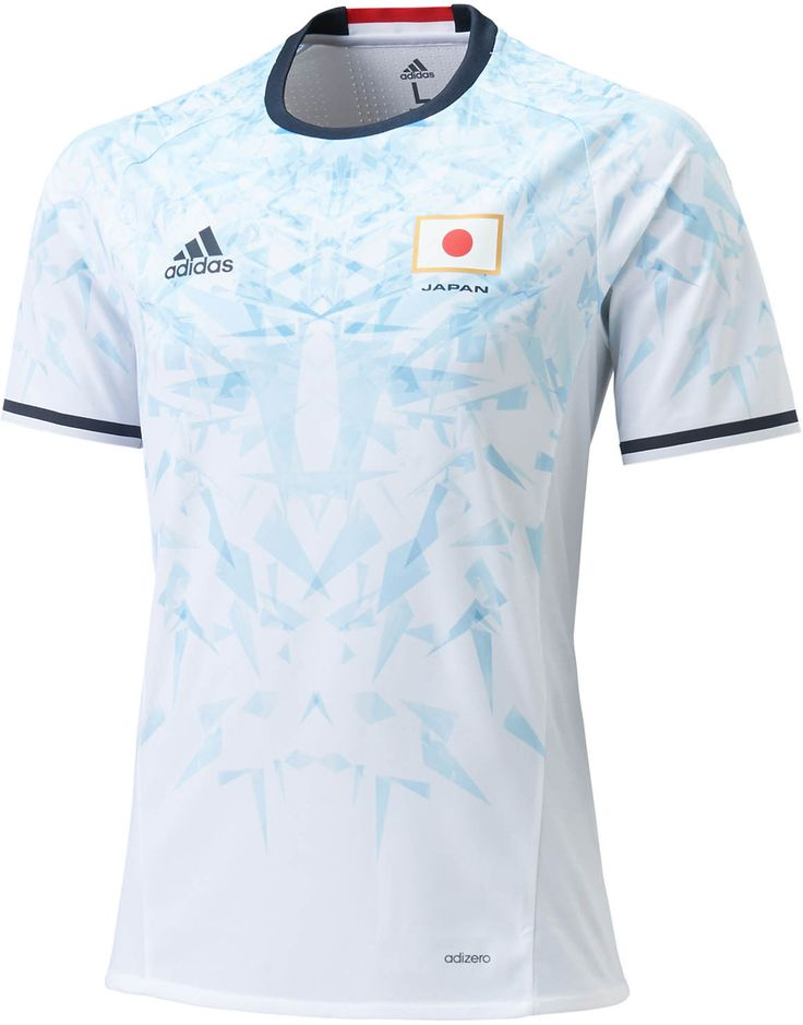 Japan 2016 Olympics Home and Away Kits Released - Footy Headlines