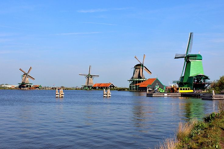 Clogs, cheese and windmills are the quintessential symbols of Holland, and all of them can be found in the charming area of Zaanse Schans near Amsterdam.