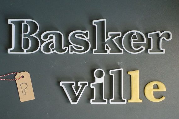 Printmeneer 3D Prints Cookie Cutters in Your Favorite Font http://3dprint.com/30417/3d-printed-font-cookie-cutters/