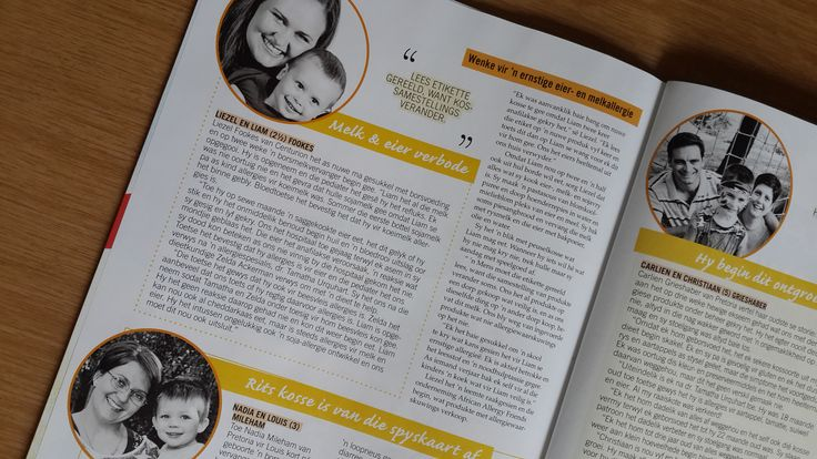 In the October 2014 issue of Baba & Kleuter Zelda and three moms shares how to solve children's food allergy puzzles.
