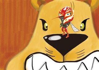 El león y el mosquito luchador http://www.encuentos.com/fabulas/el-leon-y-el-mosquito-luchador/