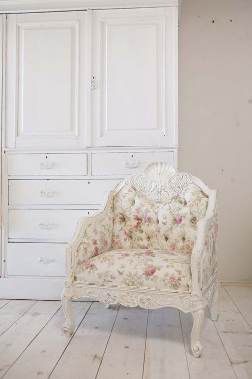 Shabby Chic 175 ★ 180 175 176 Floral Accent Chair