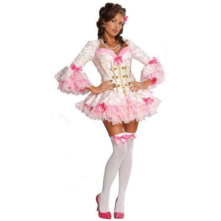 RUBIES COSTUMES REF: 889338. DISFRAZ DE DAMA ANTIGUA - NON AMI. Incluye vestido, mono y medias con moño rosado. PRECIO COLOMBIA: 195.000