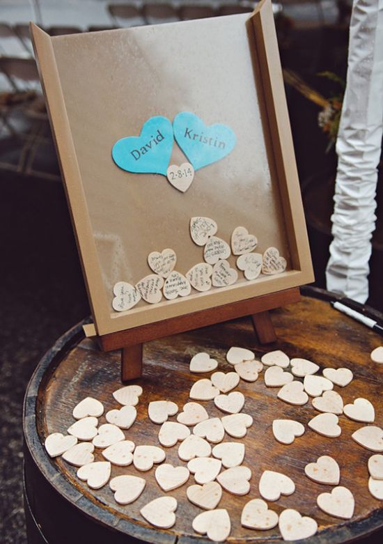 Cute wedding guestbook