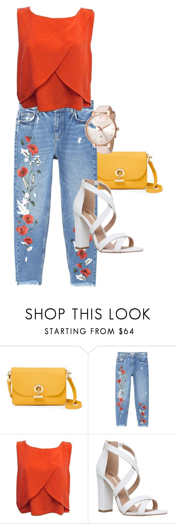 """""""Chic to work"""" by isizuniga on Polyvore featuring Waverly, MANGO, Rebecca Minkoff, Miss KG, Ted Baker and workconfortableclothes"""