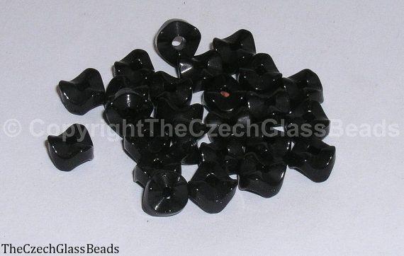 50g Czech Vintage Sintered Saucer Beads by TheCzechGlassBeads