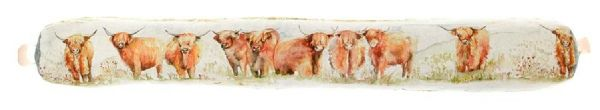 Highland cattle Voyage Maison Draught Excluder
