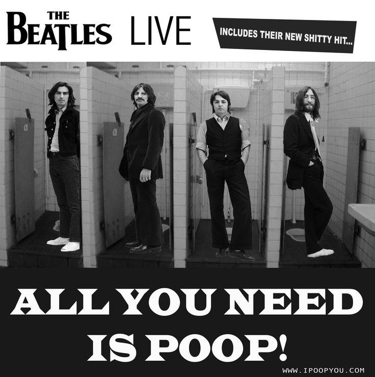 Now on iTunes!  #thebeatles #allyouneedislove #allyouneedispoop