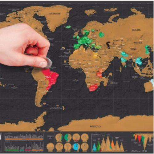 Şimdi gezdiğin ya da merak ettiğin yerleri senin için bu haritada özelliştirmenin tam zamanı! Eline bir silgi al ve kazı! Bu Deluxe seride arazi ve okyanuslar gibi genel coğrafi bölgeler kabartmalar ile daha şık ve modern görünüm sağlıyor