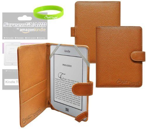 CrazyOnDigital Slim Leather Case Cover with Screen Protector For Amazon Kindle PaperWhite, Kindle Paper White 3G and Kindle Touch (Brown) by CrazyOnDigital. $29.99. Kindle Touch and Kindle PaperWhite Leather Case is specifically designed for Amazon Kindle Touch and Kindle PaperWhiteCarry your Amazon Kindle Touch and Kindle PaperWhite in style with this unique designer series leather case from CrazyOnDigital. This CrazyOnDigital Kindle Touch and Kindle PaperWhite Leather C...