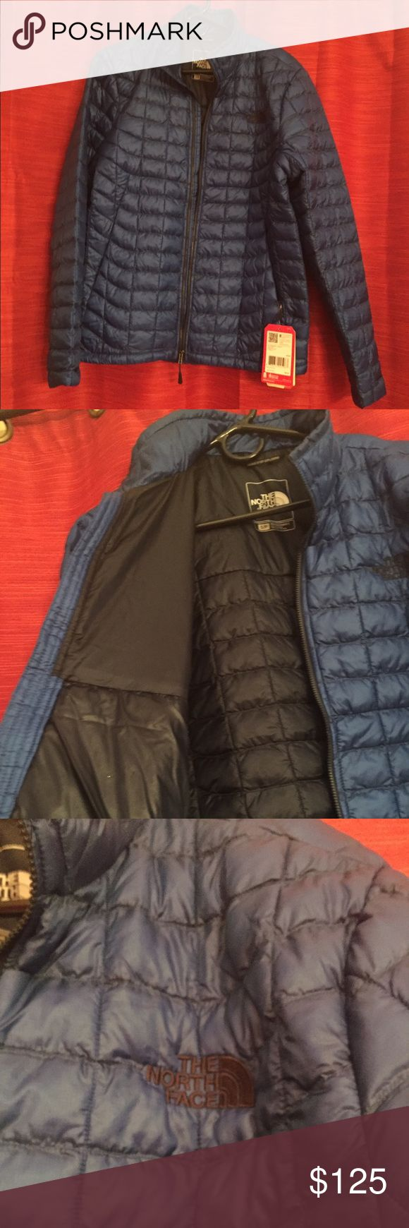 🎉Flash Sale🎉 NWT! Men's Northface Thermoball! Mens, Monster Blue Northface Thermoball Jacket in small! NWT! Excellent pricing for a warm winter coat! North Face Jackets & Coats Ski & Snowboard