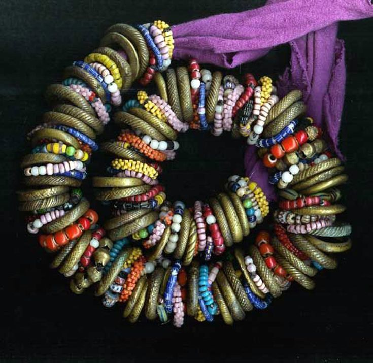 by Carl Dreibelbis   A wonderful necklace that has been put together by Carl using a collection of rare old beads, antique trade and old and vintage silver beads {he has been an avid collector since the 1970}    SOLD