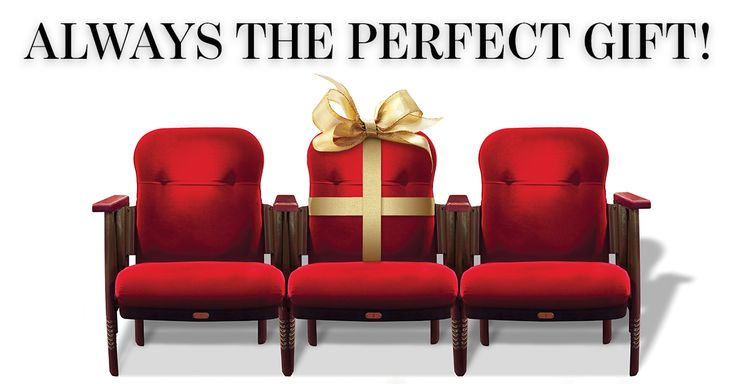 Give the gift of theatre this holiday season with a Stratford Festival Gift Certificate! Can be redeemed for tickets, backstage tours and merchandise.