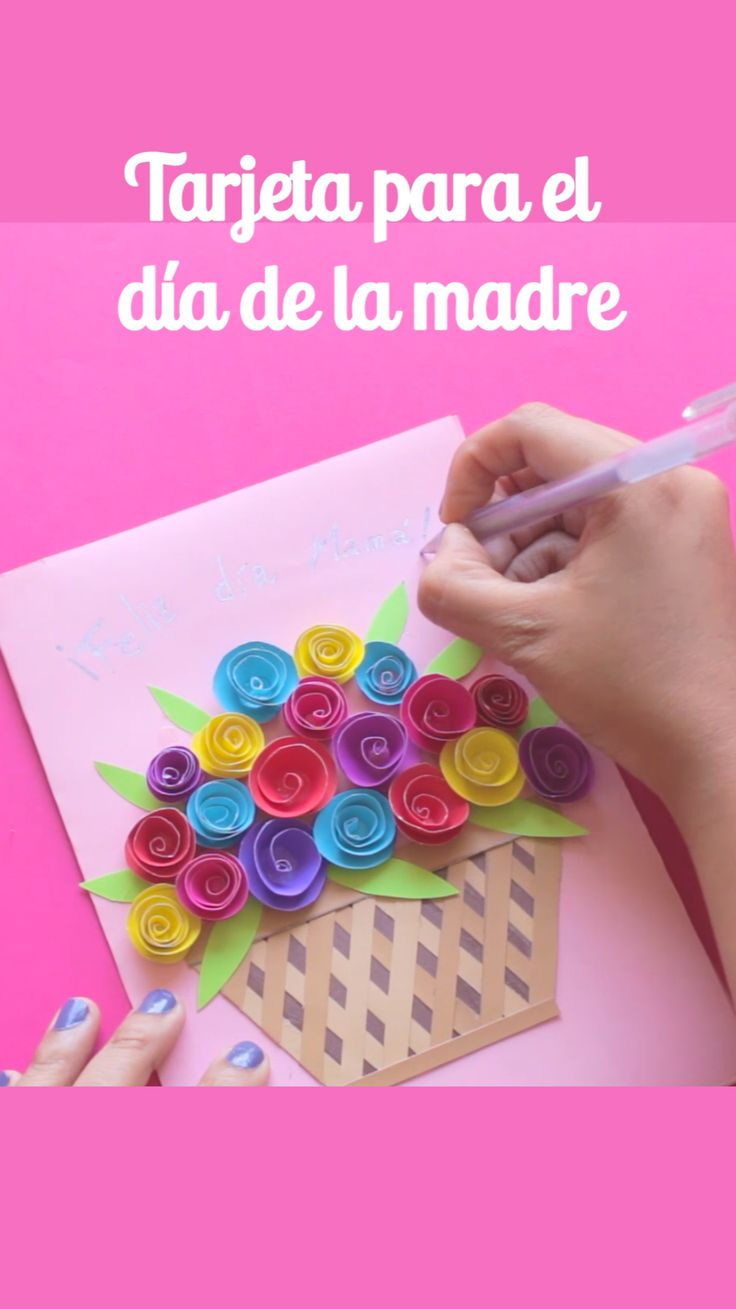 Diy Crafts For Gifts, Creative Crafts, Fun Crafts, Crafts For Kids, Paper Crafts, Origami, Bullet Journal Ideas Pages, Mothers Day Crafts, Flower Crafts