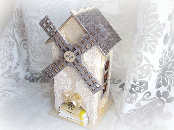 Tea bags dispenser wooden tea box tea mill box tea by GattyGatty