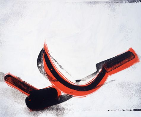 Hammer and Sickle,1976 by Andy Warhol
