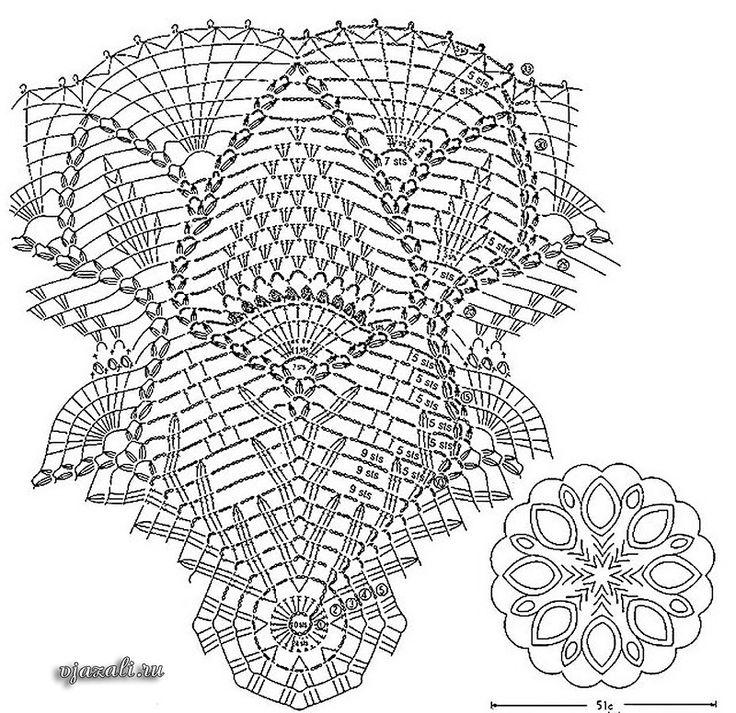 Ажурные зонтики.(схемы вязания) - Вязание - Женский Мир