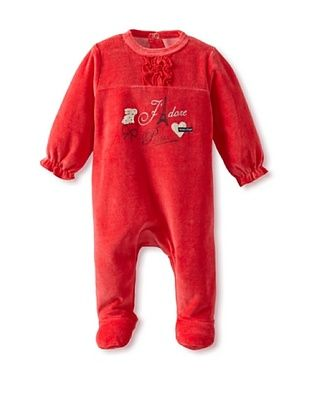 52% OFF Sucre d'Orge Baby Velour Footsie